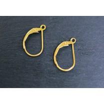 1/20 K14GF German Hook Earrings NFGP-11